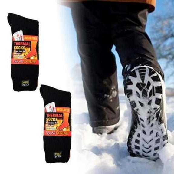 Daily Steals-[2-Pairs] Polar Extreme Thermal Insulated Boot Socks-Accessories-