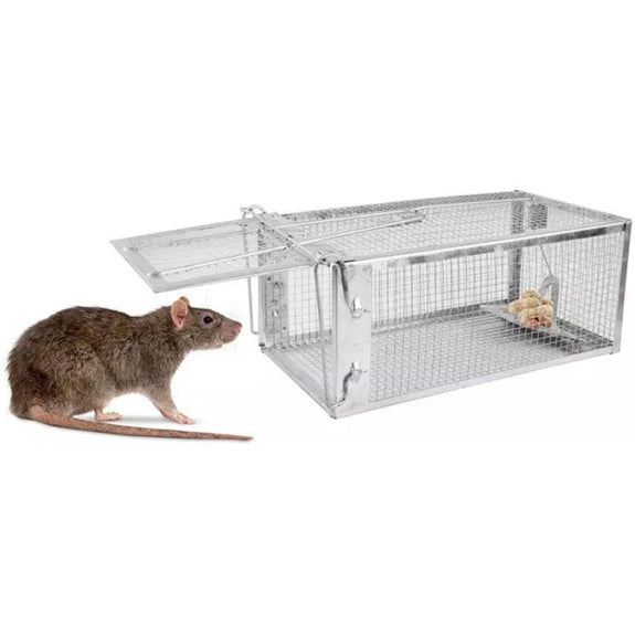 Humane Steel Cage Trap For Small Sized Animals-