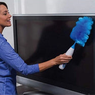 Hurricane Spin Duster Electric Feather Duster-Daily Steals