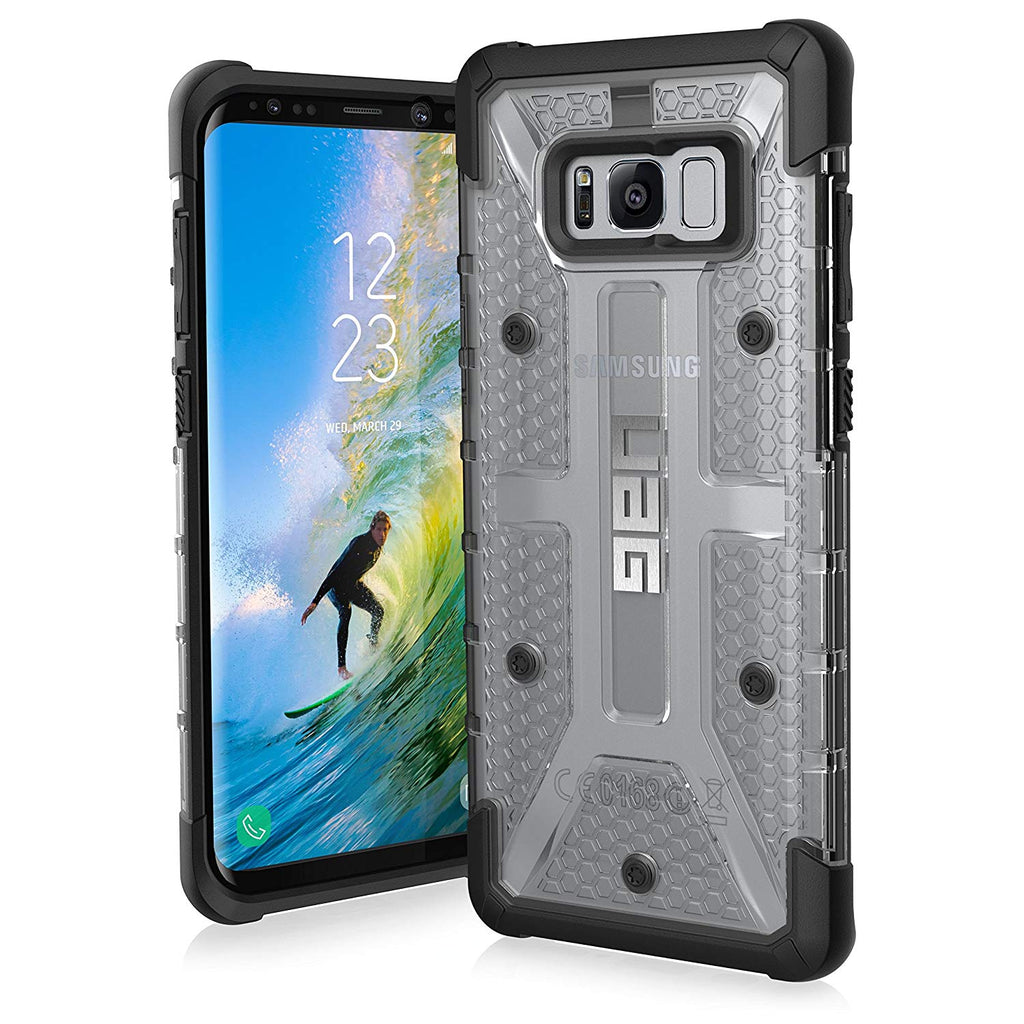 UAG Samsung Galaxy S8+ Plasma Feather-Light Rugged Military Drop Tested Phone Case-Ice-Daily Steals