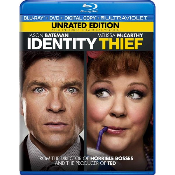 Identity Thief - Unrated Edition - Blu-Ray + DVD-Daily Steals
