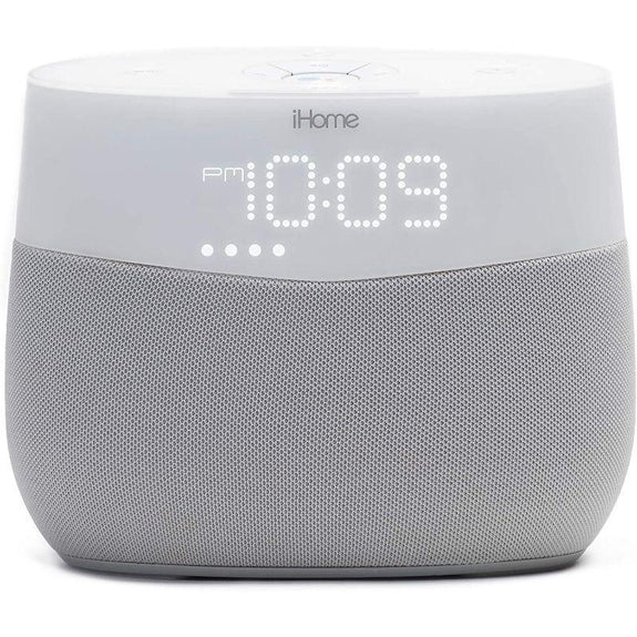 iHome Google Assistant Built-In Bedside Speaker System