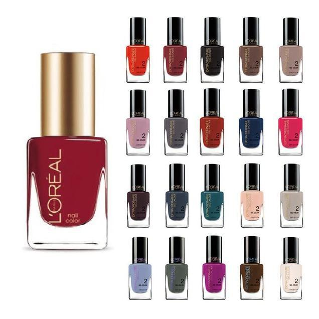 L'Oreal Paris Extraordinaire Gel-Lacque 1-2-3 Nail Color Set - Assorted-10-Pack-Daily Steals