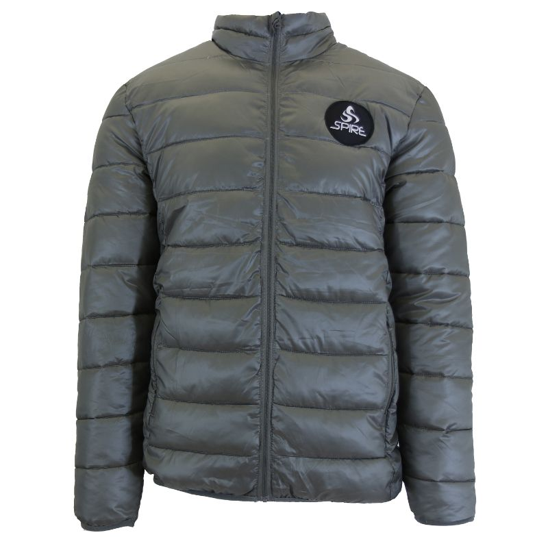Daily Steals-Men's Lightweight Puffer Bubble Jacket-Men's Apparel-Grey-Small-