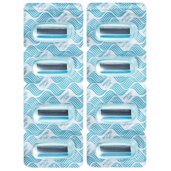 update alt-text with template Daily Steals-Schick Hydro Silk Refill Razor Blade Cartridges - 8 Pack-Personal Care-