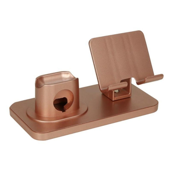 iMounTEK 3-in-1 Charging Dock Station Phone Charger Stand-Gold-