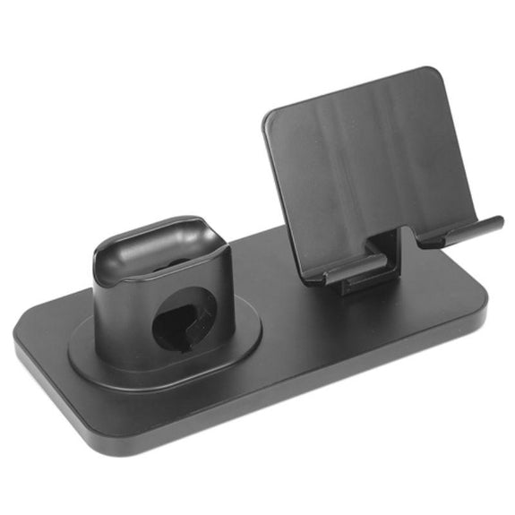 iMounTEK 3-in-1 Charging Dock Station Phone Charger Stand-Grey-