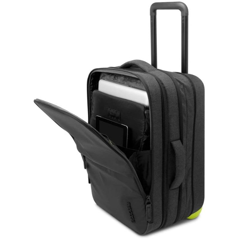 "Incase EO 22"" TSA Friendly Expandable Lightweight Travel Carry-On Luggage Suitcase with Wheels"