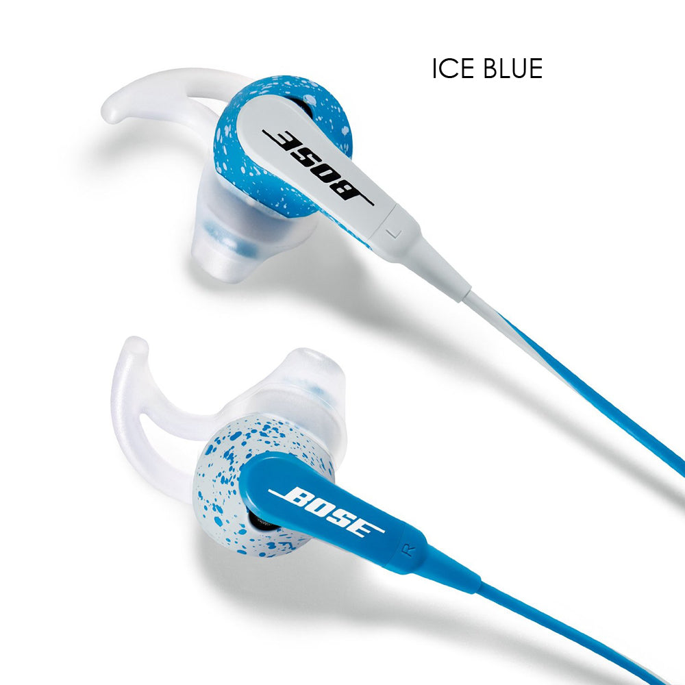 Bose FreeStyle Earbuds with Inline Microphone and Controls for iPhone-Ice Blue-Daily Steals