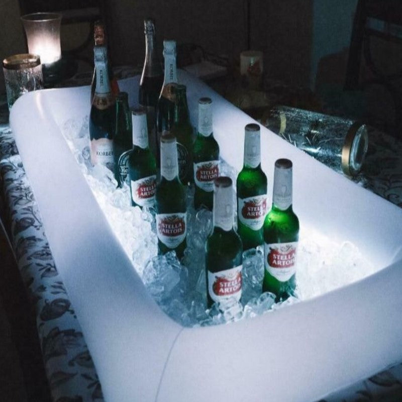 Inflatable Floating LED Serving Bar Cooler - 2 Pack-Daily Steals