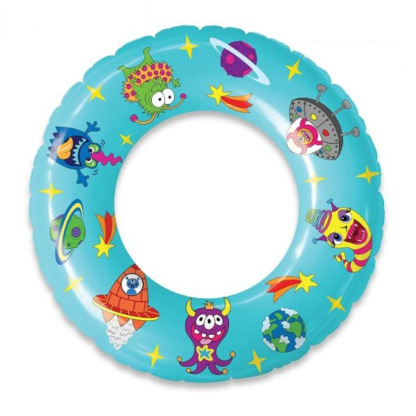Inflatable Pool Ring Floats - Unicorns, Dinosaurs, Aliens-Daily Steals