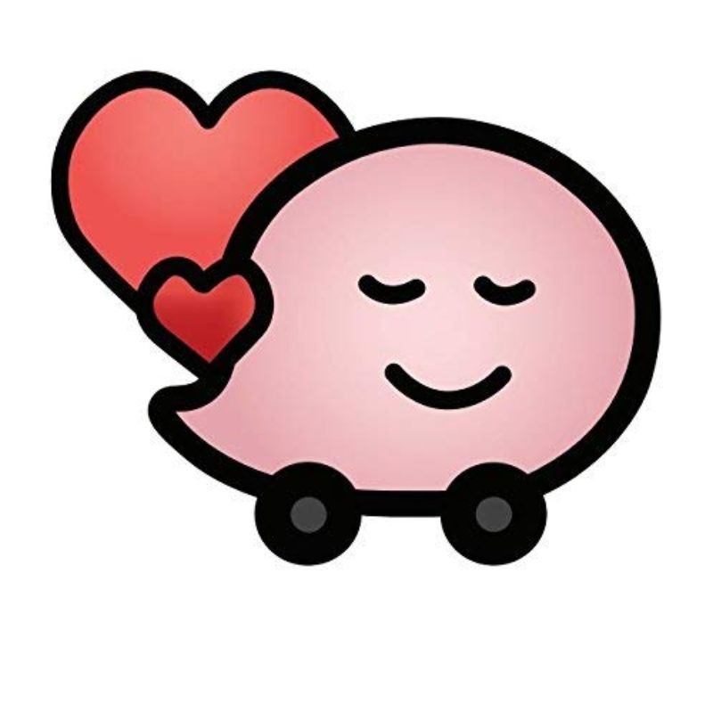 "StickyWaze 6"" Magnetic Vinyl Decal - 2 Pack-INLOVE2-Daily Steals"