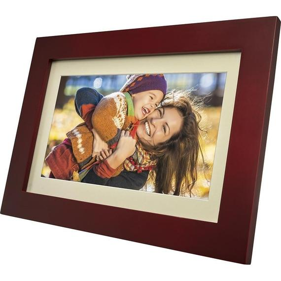 Daily Steals-Insignia 10-Inch Widescreen Digital Photo Frame with Espresso Finish-Home and Office Essentials-