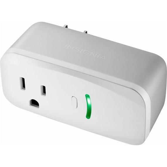 Insignia Wi-Fi Smart Plug with Power Meter-Daily Steals