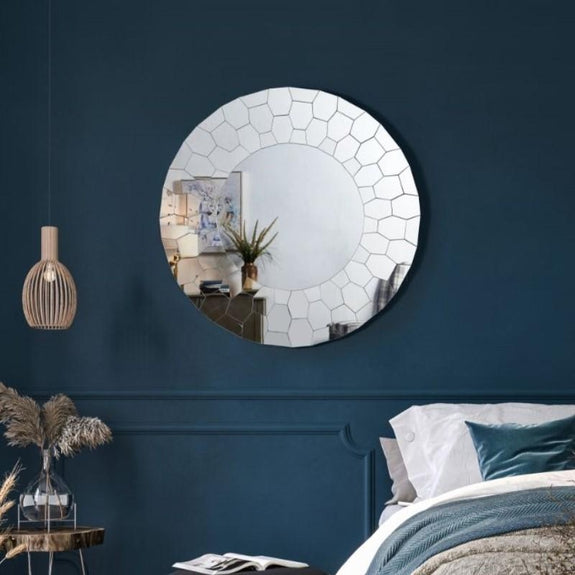 Inspired Home Erick Wall Mirror-