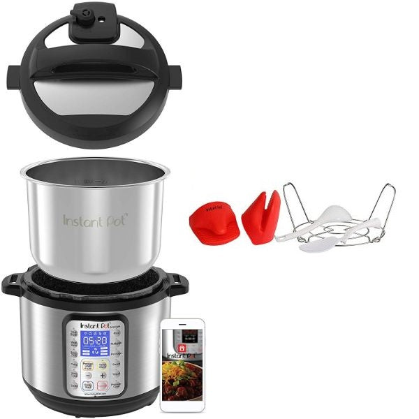 Instant Pot Smart Wi-Fi 6 Quart Multi-use Electric Pressure Cooker-Daily Steals