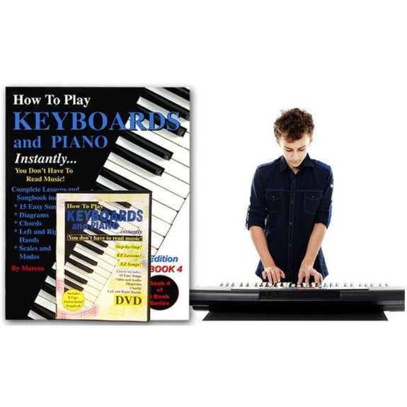 Instantly Play The Piano & Keyboard Instructional Set-Daily Steals