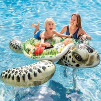 Intex Realistic Print Sea Turtle Inflatable Float-