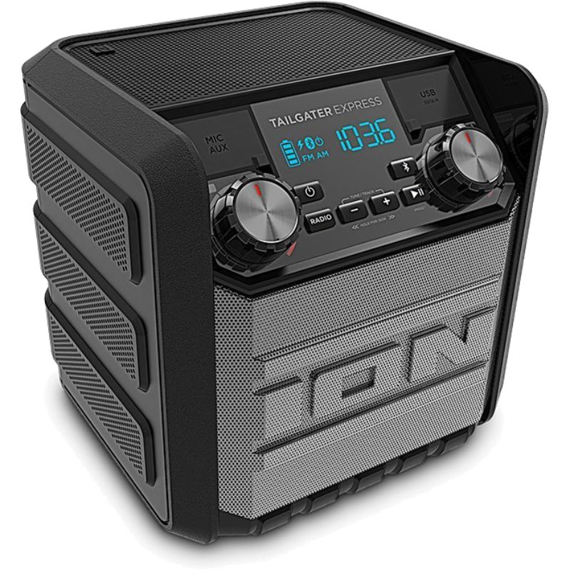 Ion Audio Tailgater Express 20W Water-Proof Bluetooth Compact Speaker-Daily Steals