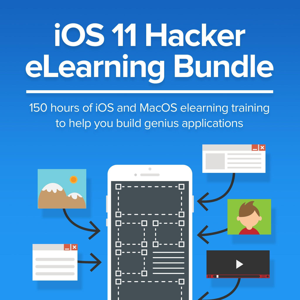 iOS 11 Hacker eLearning Bundle-Daily Steals