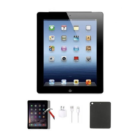 Apple iPad 3 16GB Bundle (Tempered Glass, Charger, Case)-Daily Steals