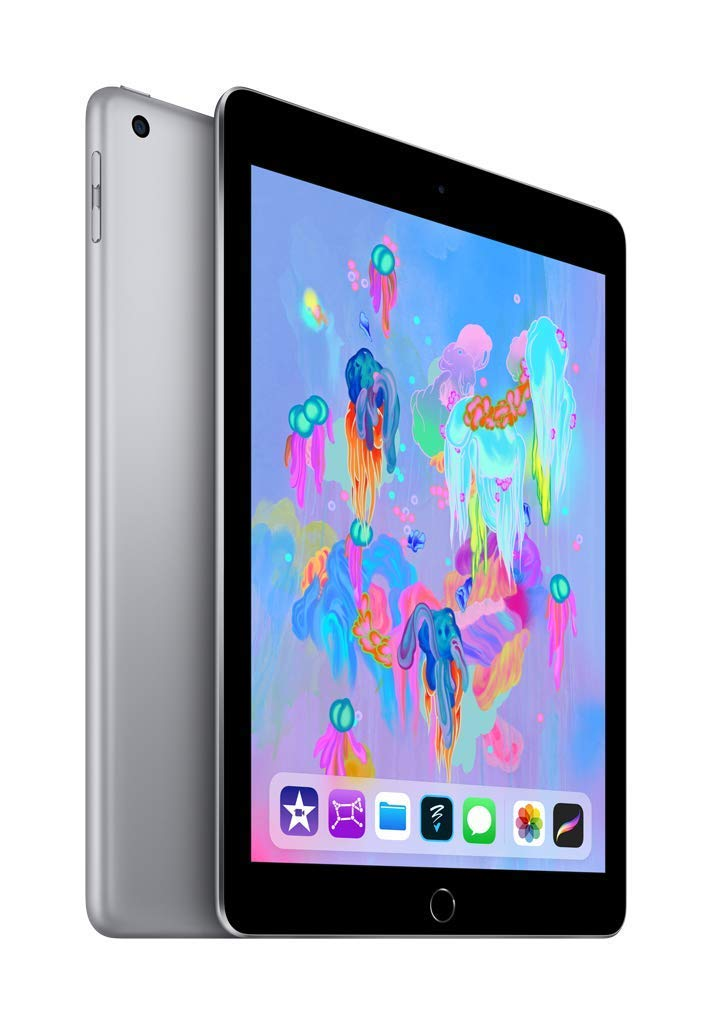 "Daily Steals-Apple 9.7"" iPad (Early 2018, 32GB, Wi-Fi Only, Space Gray)-Tablets-"