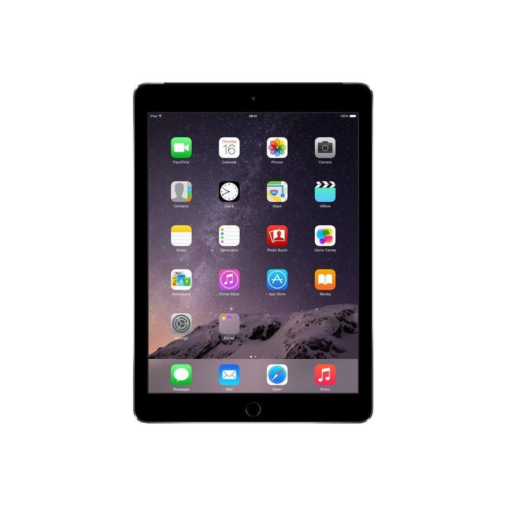 Daily Steals-Apple iPad Air 2 Tablet with Wifi + 4G LTE (Unlocked) – 16GB (Space Gray)-Tablets-