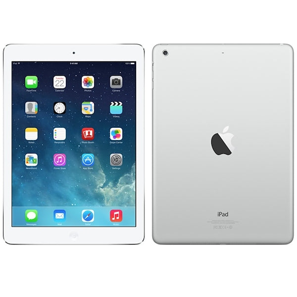 Apple iPad Air with Wi-Fi - Color and Size Options Available-Silver-32GB-Daily Steals