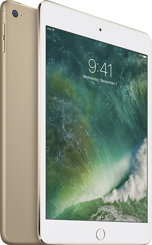 Daily Steals-Apple iPad mini 4 Wi-Fi 128GB-Cell and Tablet Accessories-Gold-