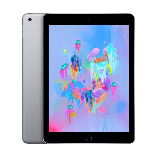 "Apple iPad - 2018 6th Generation - 9.7"" Display - 32GB 128GB - WiFi or Cellular Tablet-Space Gray-WiFi Only-128GB-Daily Steals"