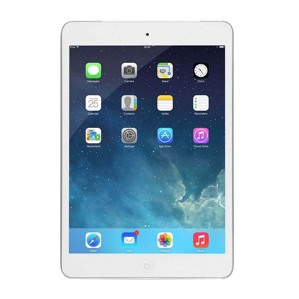 refurbished-Apple iPad Mini 1st Generation Tablet with Wifi - Refurbished-White-16GB-