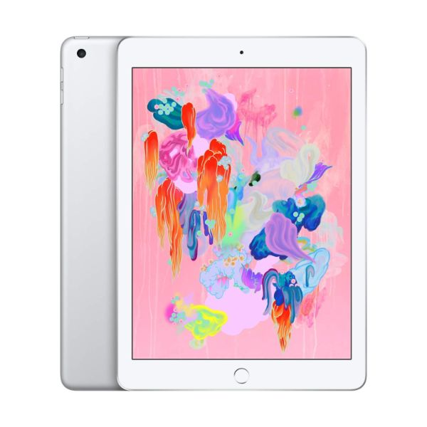 "Apple iPad - 2018 6th Generation - 9.7"" Display - 32GB 128GB - WiFi or Cellular Tablet-Silver-WiFi Only-128GB-Daily Steals"