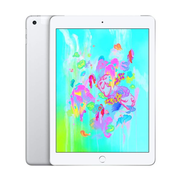 "Apple iPad - 2018 6th Generation - 9.7"" Display - 32GB 128GB - WiFi or Cellular Tablet-Silver-WiFi + Cellular-128GB-Daily Steals"