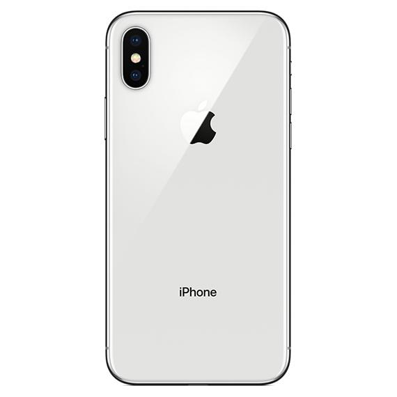 Apple iPhone X 64GB or 256GB - AT&T Locked-Silver-256GB-Daily Steals