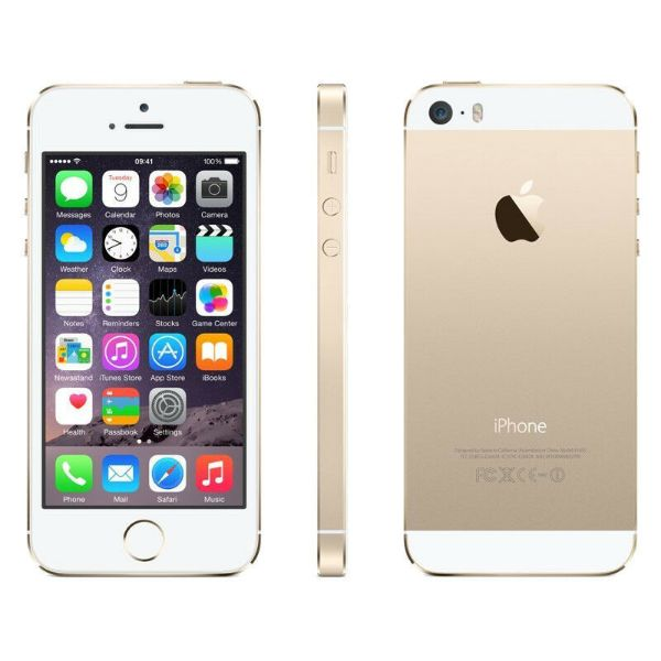 iPhone 5S 16GB Factory Unlocked Smartphone-Gold-Daily Steals