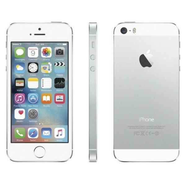 iPhone 5S 16GB Factory Unlocked Smartphone-Silver-Daily Steals
