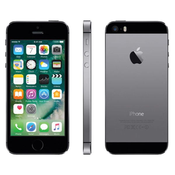 iPhone 5S 16GB Factory Unlocked Smartphone-Space Grey-Daily Steals