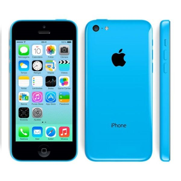 Apple iPhone 5c 16GB Unlocked GSM Phone-Blue-Daily Steals
