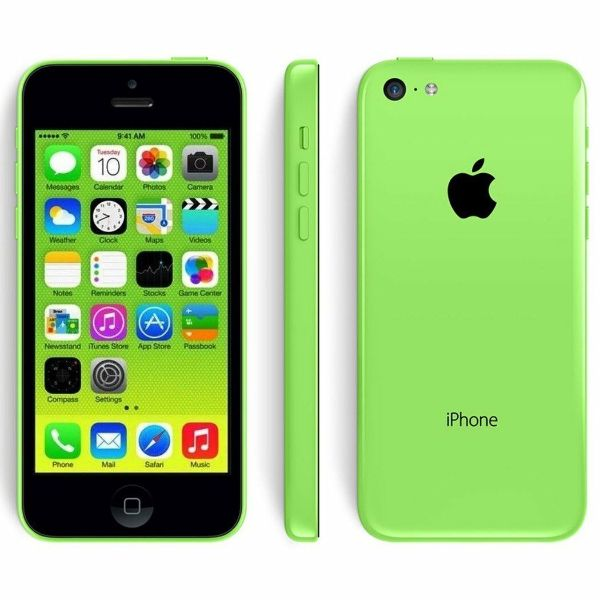 Apple iPhone 5c 16GB Unlocked GSM Phone-Green-Daily Steals