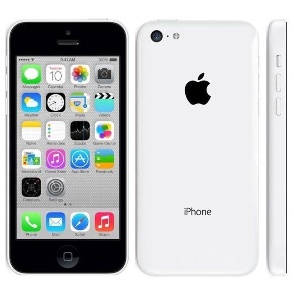 Apple iPhone 5c 16GB Unlocked GSM Phone-White-Daily Steals