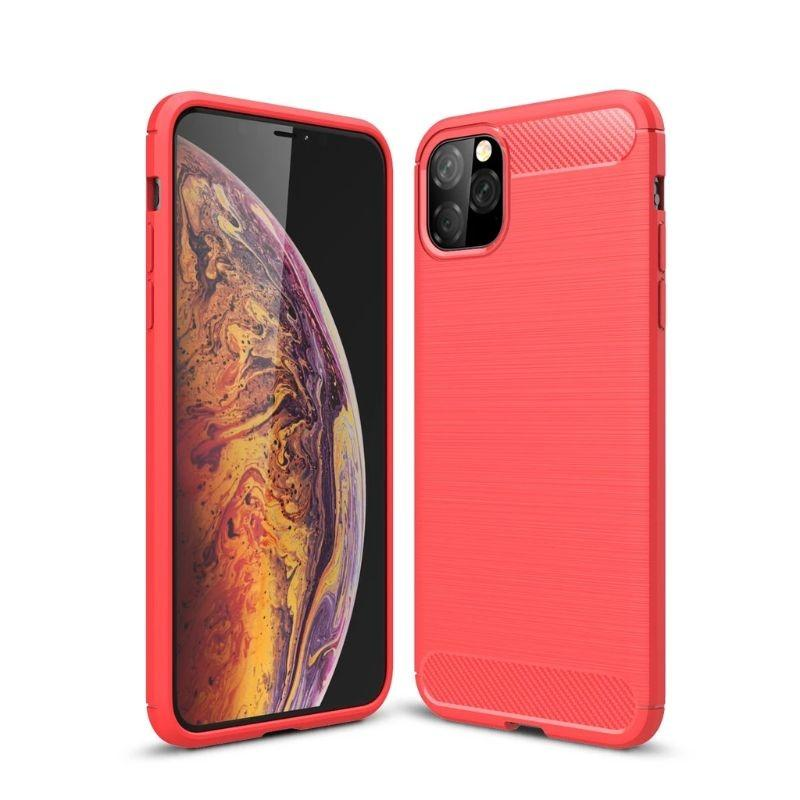 iPM iPhone's 11 Carbon Fiber Protective Case-Red-iPhone 11-Daily Steals