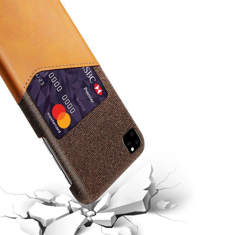 iPM iPhone's 11 Credit Card Holder Shock Resistant Fabric Case-Daily Steals