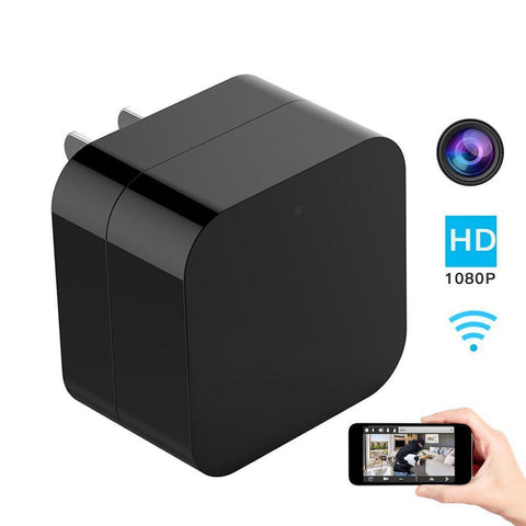 Daily Steals-iPM Wi-Fi USB Wall Charger Hidden Camera with Night Vision-Cameras-