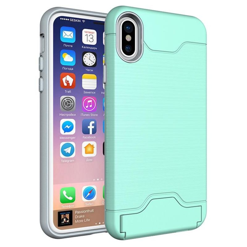 iPM Apple iPhone 11, Pro, Pro Max Case With Hidden Credit Card Slot-Green-iPhone 11-Daily Steals