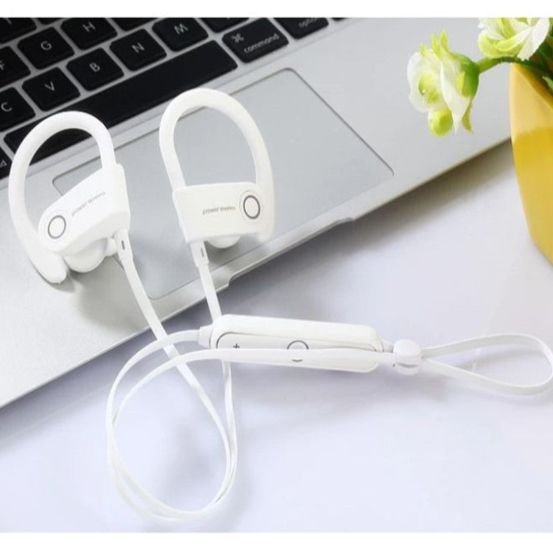 iPM PowerBuds Wireless Running Sport Earphones with Ear-Hook and Mic-Daily Steals