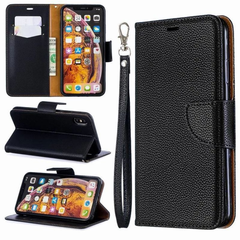 iPM PU Leather Wallet Case For Apple iPhone 11, Pro, Pro Max With Kickstand-Black-iPhone 11-Daily Steals