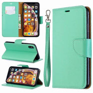 iPM PU Leather Wallet Case For Apple iPhone 11, Pro, Pro Max With Kickstand-Green-iPhone 11-Daily Steals