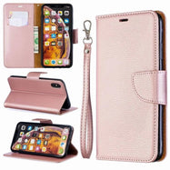 iPM PU Leather Wallet Case For Apple iPhone 11, Pro, Pro Max With Kickstand-Pink-iPhone 11-Daily Steals