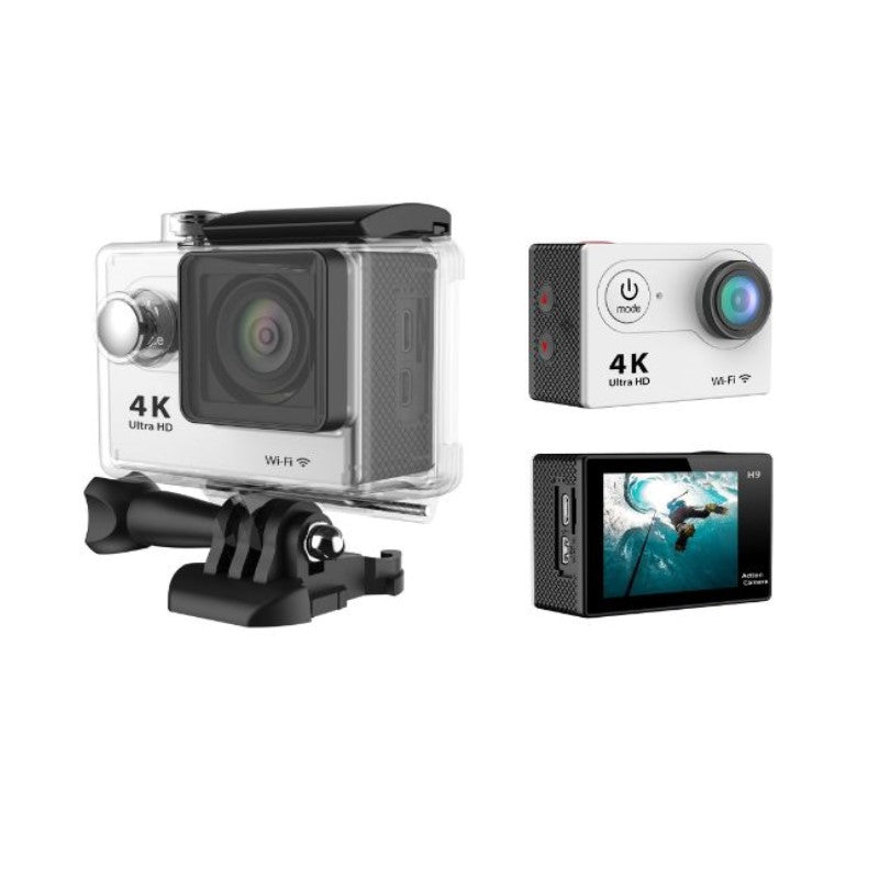 4K Waterproof Ultra HD Action Camera with Wi-Fi and Waterproof Case-Daily Steals