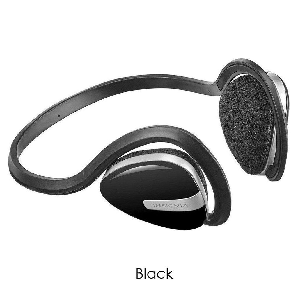 Insignia Wireless On-Ear Bluetooth Sport Headphones-Black-Daily Steals